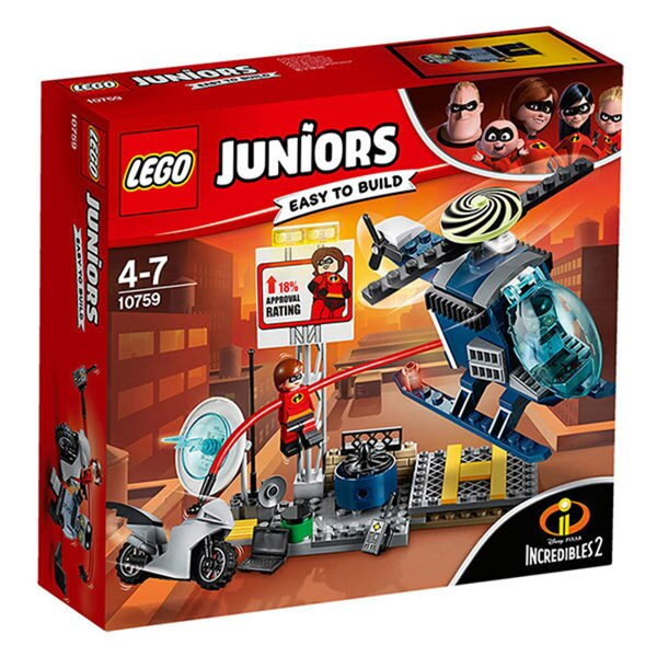 10759【LEGO 樂高積木】Juniors系列 - 超人特攻隊2 Elastigirl s Rooftop Pursuit
