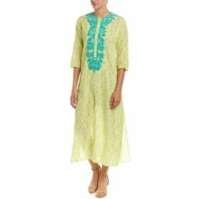 Maxi  ファッション ドレス Roller Rabbit Maxi Dress S Green