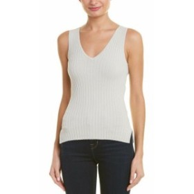 Autumn Cashmere オータムカシミア ファッション トップス Autumn Cashmere Lace Back Tank Top S Grey