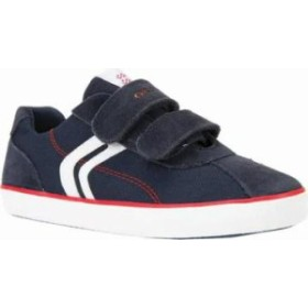 Geox キッズスニーカー Geox Kilwi Sneaker J82A7I Navy/Red Canvas/Su