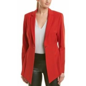 BCBGMAXAZRIA BCBG マックスアズリア ファッション 衣類 Bcbgmaxazria Boyfriend Jacket L Red