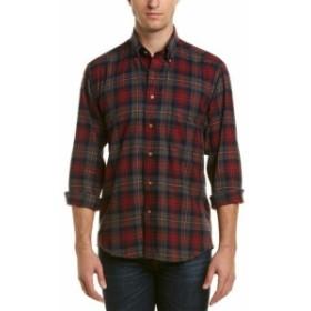 Plaid  ファッション ドレスシューズ Bills Khakis Niantic Plaid Shirt S Red