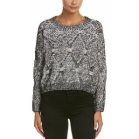 Polar ポーラー ファッション トップス Raga Polar Front Sweater L Black