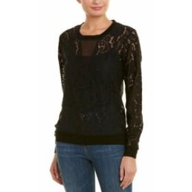 Gold ゴールド ファッション トップス Gold Hawk English Lace Pullover M Black