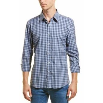 ファッション ドレスシューズ Hyden Yoo Slim-Fit Woven Shirt M Blue