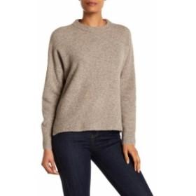 ファッション トップス 360 Sweater NEW Beige Womens Size XS Turtleneck Mock Wool Sweater