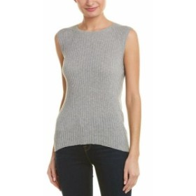 Autumn Cashmere オータムカシミア ファッション トップス Autumn Cashmere Cotton By Sweater S Grey