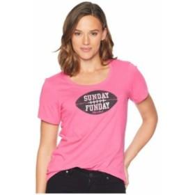 Life is Good ライフイズグッド 服 一般 Sunday Funday Crusher Scoop Neck T-Shirt