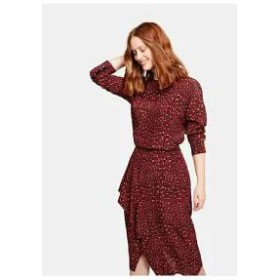 Violeta by Mango レディーススカート Violeta by Mango ROJA - Wrap skirt - red red