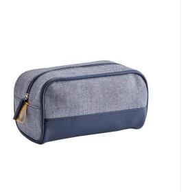 火の色 化粧ポーチ メイクポーチ 大容量 化粧品収納 小物入れ 普段使い 出張 旅行 化粧バッグ ブルー