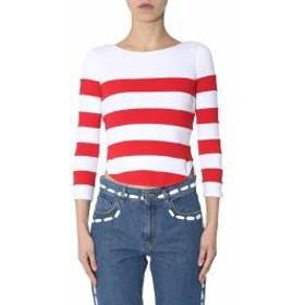 Moschino レディースその他 Moschino Striped T-shirt ROSSO