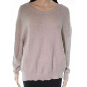 ファッション トップス Elodie Womens Beige Size XS Pullover Ribbed Trim Crewneck Sweater
