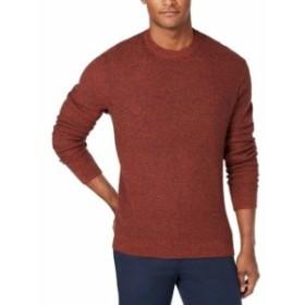 Michael Kors マイケルコルス ファッション トップス Michael Kors Mens Sweater Brown Size XL Pullover Knit Crew Long Sleeve