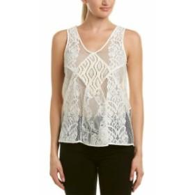 ファッション 衣類 Maje Lace Top 1 White
