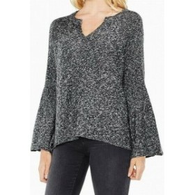Two by Vince Camuto トゥー バイ ビンス カミュート ファッション トップス Two by Vince Camuto NEW Black Womens Size XS Marled Knit