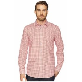 BUGATCHI ブガッティ 服 一般 Shaped Fit Grid Print Woven Shirt