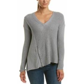 Matty  ファッション トップス Matty M Asymmetric Hem Wool-Blend Sweater