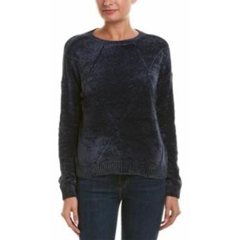 ROMEO & JULIET COUTURE ロミオ&ジュリエットクチュール ファッション トップス Romeo & Juliet Couture Chenille Sweater M Blue