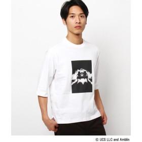 THE SHOP TK(Men)(ザ ショップ ティーケー(メンズ)) デロリアン5分袖Tシャツ