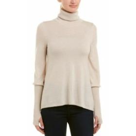 ファッション トップス Brown Allen Wool & Cashmere-Blend Turtleneck Sweater Xs White