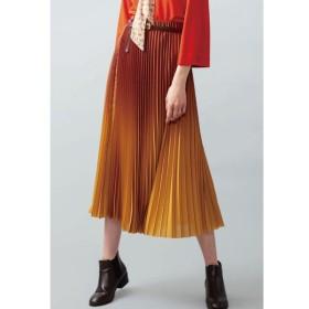 JETSET SOLOPLUS / ジェットセットソロプラス【SECOND FEMALE】グラデーションプリーツスカート