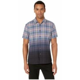 Perry Ellis ペリーエリス 服 一般 Dip-Dye Plaid Shirt