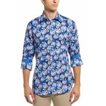 TailorByrd テイラーバード ファッション ドレスシューズ Tailorbyrd Tropical Woven Shirt M