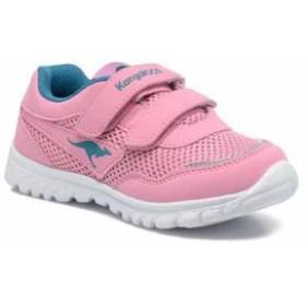 Kangaroos キッズスニーカー Kangaroos Trainers Inlite 3003B Pink Pink/Dk Smaragd