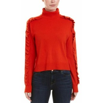 Red  ファッション トップス Cinq A Sept Savanna Cashmere Pullover Xs Red