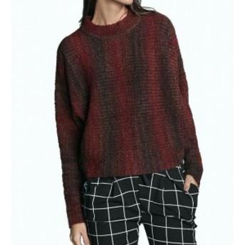 Red  ファッション トップス Maude Vivante NEW Red Womens Size Large L Mock Neck Natalia Sweater
