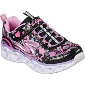 Skechers キッズスニーカー Skechers S Lights Heart Lights Sneaker Bl