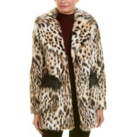 Rachel Roy レイチェルロイ ファッション 衣類 Rachel Rachel Roy Fuzzy Coat S Brown