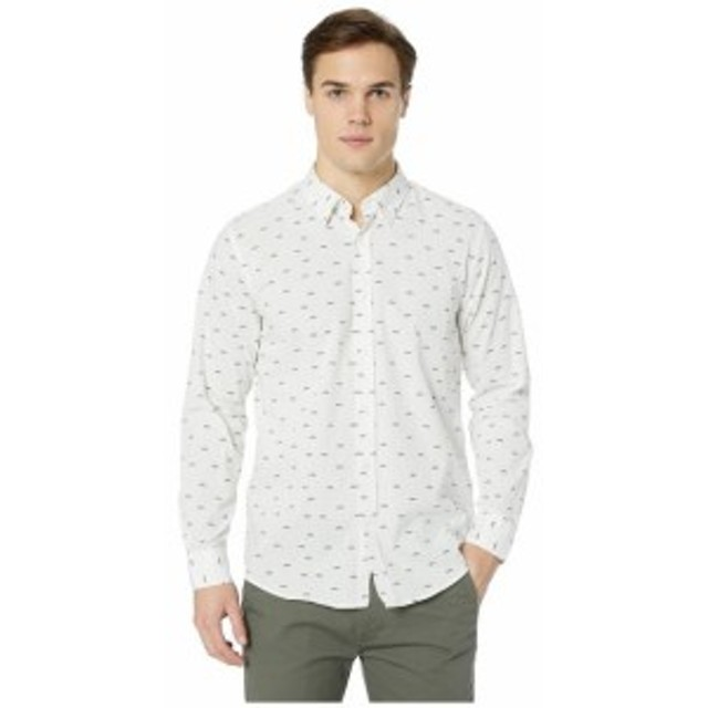 Ben Sherman ベンシャーマン 服 一般 Long Sleeve Trumpet Print Shirt
