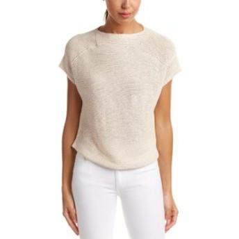 ファッション トップス Joan Vass Linen Sweater 2