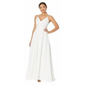 Calvin Klein カルバンクライン ドレス 一般 Embroidered Gown