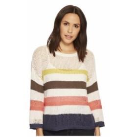 Three Dots スリードッツ 服 スウェット Multicolor Stripe Sweater