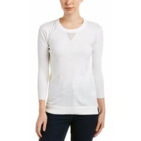 AG  ファッション トップス Ag Jeans Preston Cashmere-Blend Sweater M White