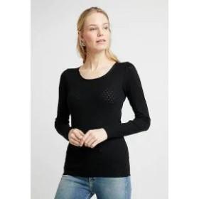 Noa Noa レディースその他 Noa Noa BASIC NEW POINTELLE - Long sleeved top - black black