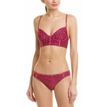 Proenza Schouler プロエンザ スクーラー スポーツ用品 スイミング Proenza Schouler 2Pc Underwire Bikini Set M Pink