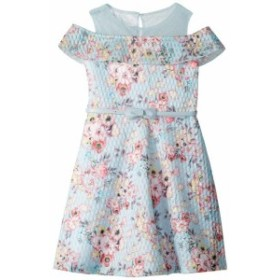 Us Angels ユーエスエンジェルズ ドレス 一般 Cold Shoulder Fit-and-Flare Dress (Toddler/Little Kids)