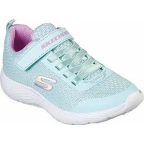 Skechers キッズスニーカー Skechers Dyna-Lite Sneaker Aqua/Purple