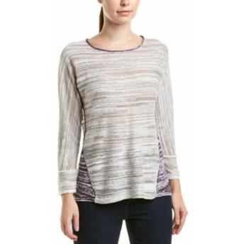 NIC+ZOE ニックゾー ファッション トップス Nic+Zoe Linen-Blend Sweater