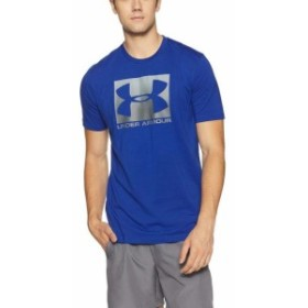 Under Armour アンダー アーマー ファッション トップス Under Armour NEW Blue Mens Size XL Logo Graphic Print Loose Fit Tee Shirt #