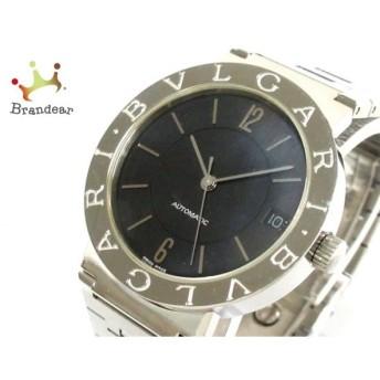 ブルガリ BVLGARI 腕時計 ブルガリブルガリ BB33SSAUTO メンズ 黒  値下げ 20191018