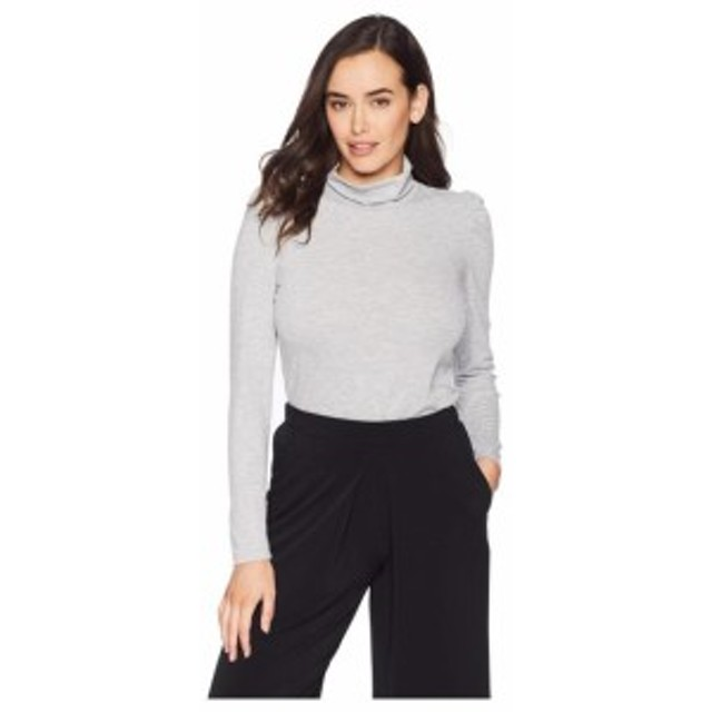 Vince Camuto ヴィンスカムート 服 スウェット Long Sleeve Turtleneck Knit Jersey Top