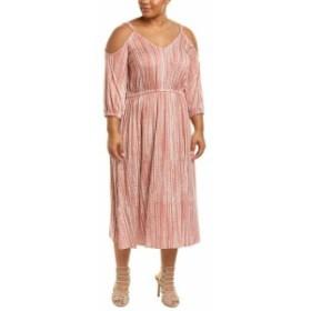 Rachel Pally レイチェルパリー ファッション ドレス Rachel Pally Plus Ariana Midi Dress 1X Pink