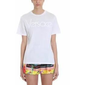 Versace レディースその他 Versace Logo White Cotton T-shirt white