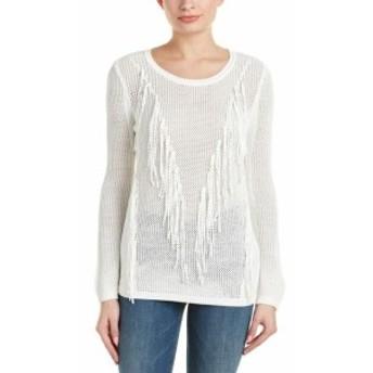 ファッション トップス Sandro Success Sweater 3 White