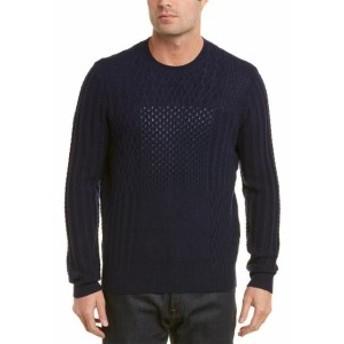 brooks ブルックス ファッション トップス Brooks Brothers Wool-Blend Sweater S Blue
