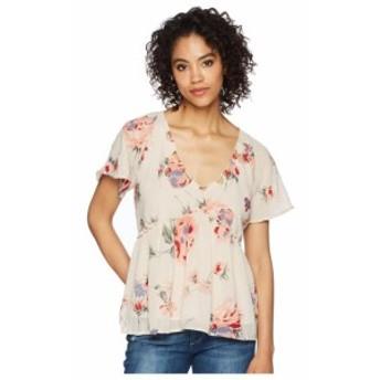Lucky Brand ラッキーブランド 服 一般 Floral Flutter Top